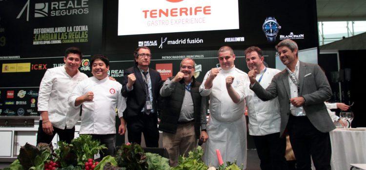 La papa de Tenerife triunfa en Madrid Fusión
