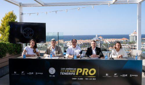 Los mejores especialistas del circuito internacional se darán cita en Las Américas Tenerife Surf Pro Cabreiroá