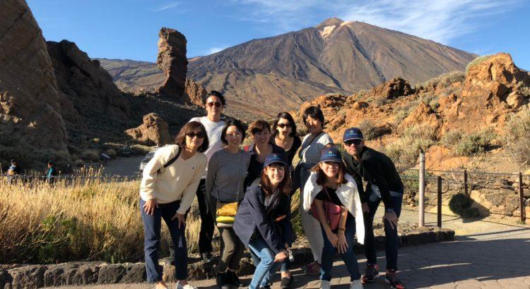 Tenerife recibe a los principales agentes turísticos de Japón