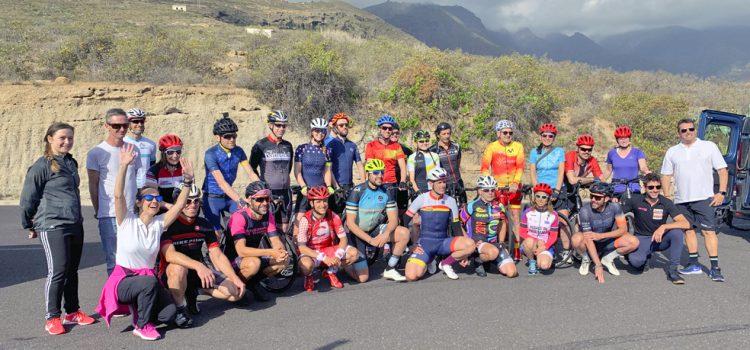 Los participantes del Tenerife Bike Festival alaban la diversidad paisajística de la Isla