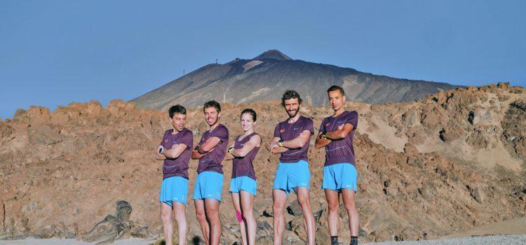 El Salomon Iati Team de trail running elige la Isla para su presentación