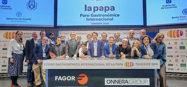 El II Foro Gastronómico de la Papa convierte a Tenerife en escaparate internacional de este producto clave en la cocina canaria