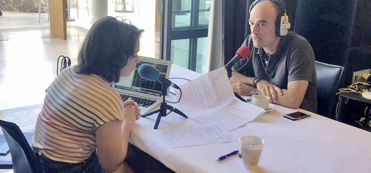 Cinco radios británicas difunden en directo desde Tenerife los atractivos de la Isla