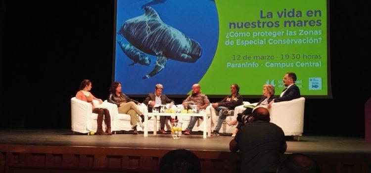 La Universidad de La Laguna acoge un debate sobre la conservación de la biodiversidad marina de Tenerife