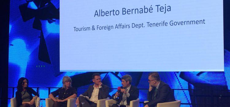 Alberto Bernabé resalta en la ITB  los beneficios del turismo para la Isla