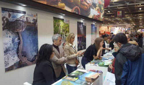 Tenerife se promociona en el Salón Mundial del Turismo de París