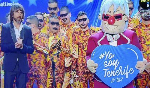 #YosoyTenerife,  en las semifinales de 'Got Talent' de la mano de Zeta Zetas