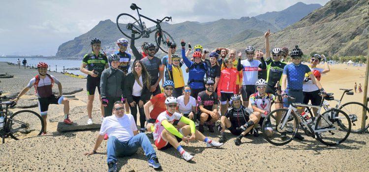 Un vídeo recrea la reciente celebración del Tenerife Bike Festival