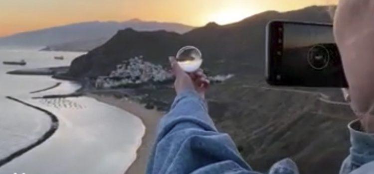 Tenerife promociona sus paisajes en Rusia a través de la mirada del fotógrafo Sasha Levin y el nuevo smartphone de Asus