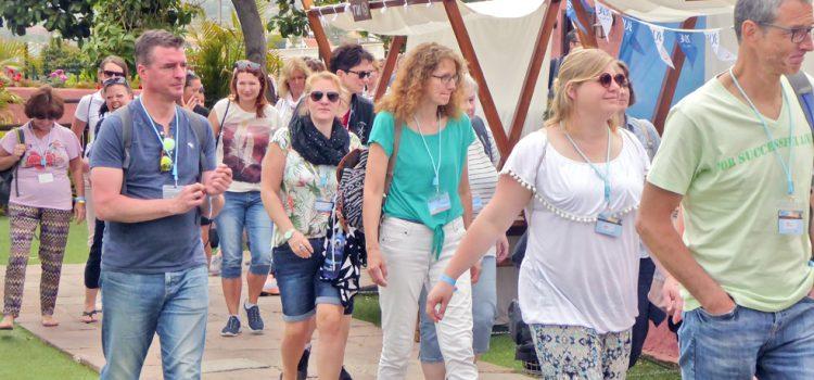 Cabildo y Gobierno de Canarias muestran el potencial turístico de Tenerife a 750 agentes de viajes alemanes