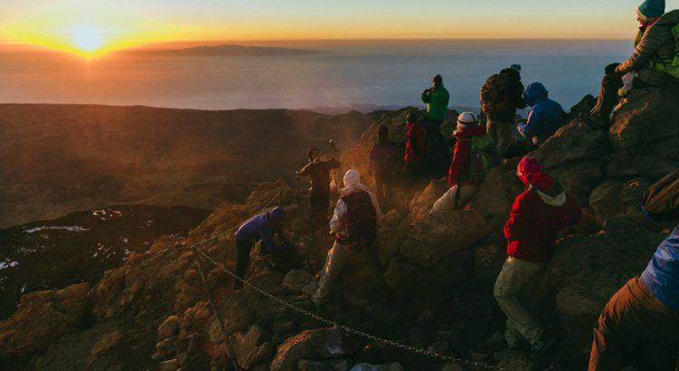 200 senderistas procedentes de Europa recorren la Isla con el Tenerife Walking Festival