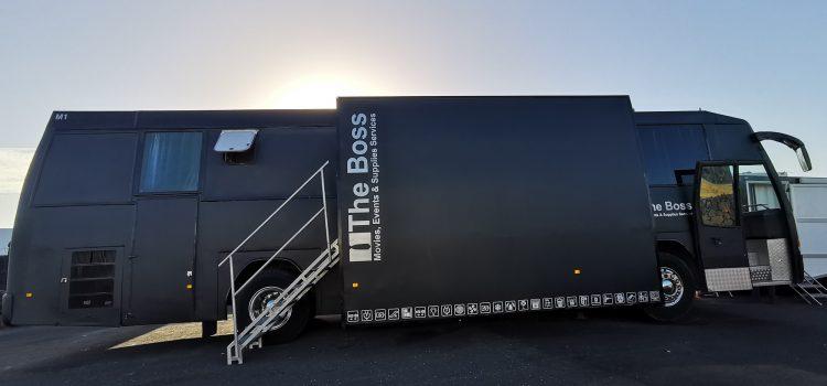 The Boss Transports invierte en la mejora de sus vehículos para rodajes