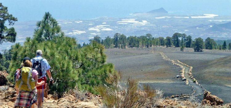 Los aficionados locales al senderismo podrán participar en el Tenerife Walking Festival