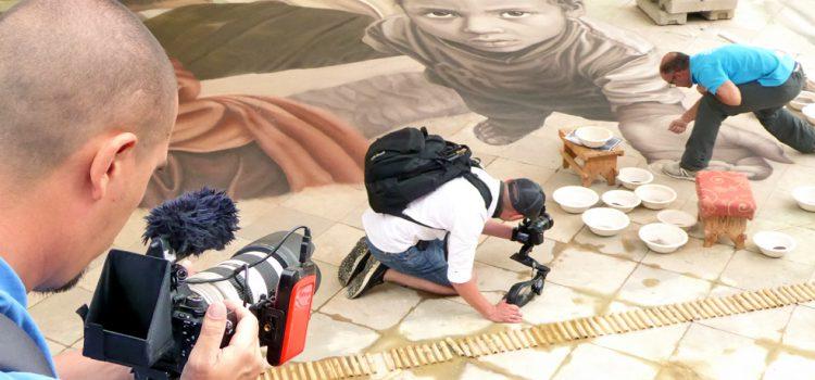 El canal ruso Moya Planeta filma los atractivos del destino para su programa de viajes Dreamers