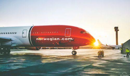 Norwegian anuncia cinco conexiones semanales entre Tenerife e Islandia para la próxima temporada de invierno