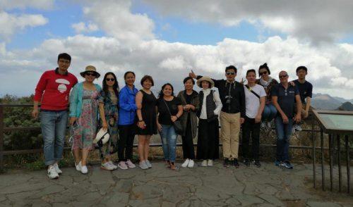 Una decena de agentes de viajes chinos descubren la Isla como destino turístico