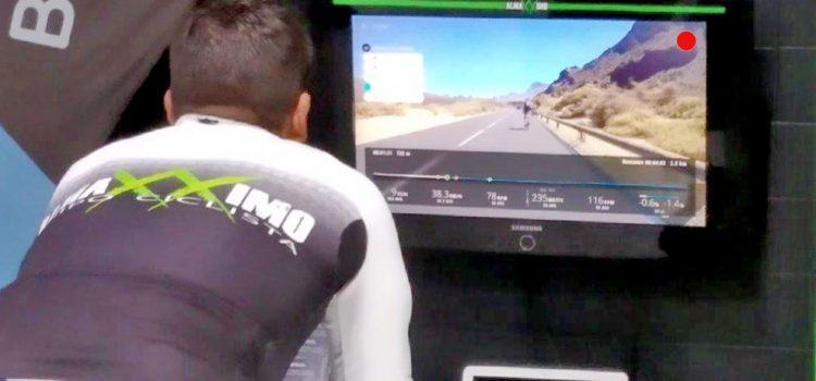 El Cabildo promueve las rutas ciclistas de Tenerife entre los usuarios del famoso simulador Bkool