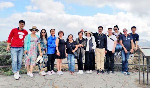 Una decena de agentes de viajes de China descubren la Isla como destino turístico