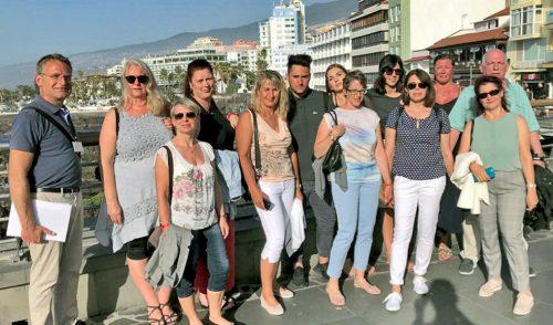 Tenerife muestra su potencial como destino a agentes de viajes alemanes de RTK y de la fundación Willy Scharnow