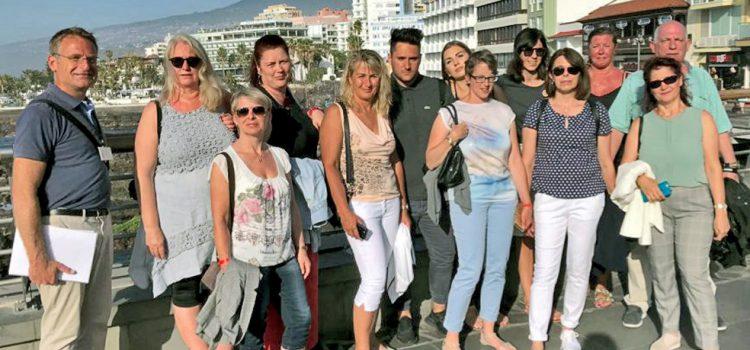 Tenerife muestra su potencial como destino a agentes de RTK y de la fundación Willy Scharnow de Alemania