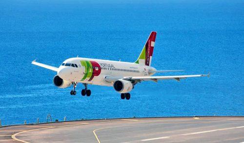 La aerolínea portuguesa TAP inaugura una ruta directa Tenerife-Lisboa con varios vuelos semanales