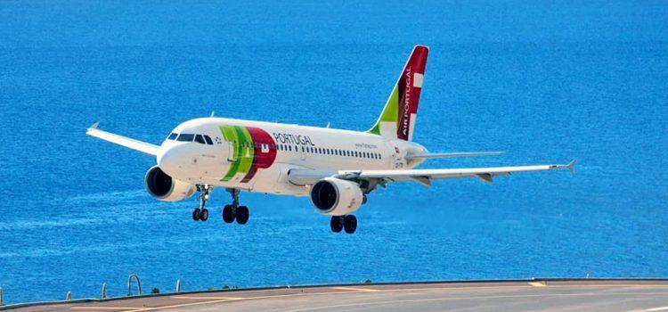 La aerolínea portuguesa TAP inaugura una ruta directa Tenerife – Lisboa con varios vuelos semanales