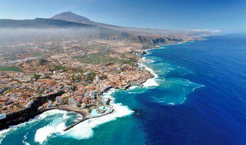 Tenerife recibe en mayo más de medio millón de turistas