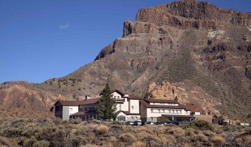 El Parador de Las Cañadas del Teide, destino ideal para el entrenamiento de ciclistas profesionales
