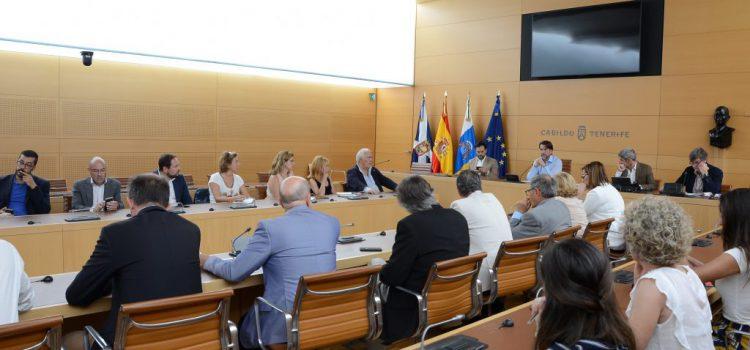 El Cabildo recoge las propuestas de agentes sociales y económicos para la futura terminal de Tenerife Sur