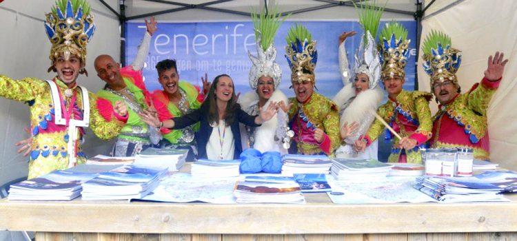 La Isla lleva el Carnaval a los actos del Día de España en Utrech junto al resto de atractivos del destino