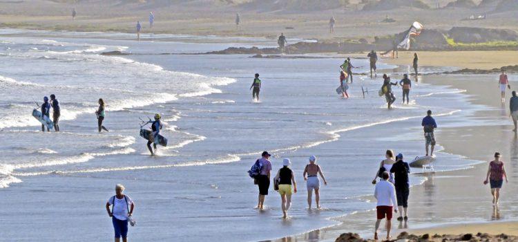 Tres millones de turistas alojados en el primer semestre, un nueve por ciento más