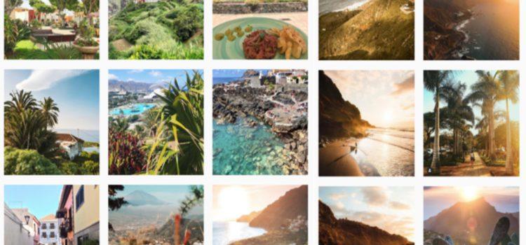 Dos 'influencers' generan en agosto mas de un millón de impresiones sobre la Isla en instagram