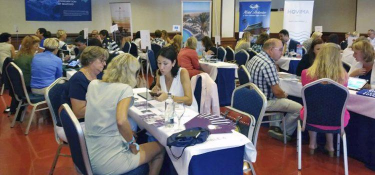Una delegación de Travel Club Holanda visita la Isla para familiarizarse con el destino
