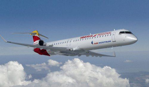 Air Nostrum realizará 136 vuelos en 9 rutas con Canarias en Navidad