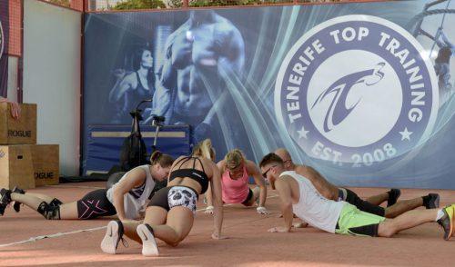 Equipos internacionales de crossfit eligen Tenerife Top Training para entrenar