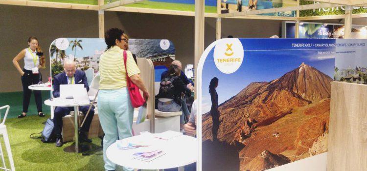 Tenerife Golf promociona el destino en la International Golf Travel Market de Marrakech