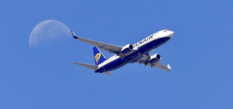 Ryanair bate su marca interanual en noviembre con 11 millones de pasajeros transportados