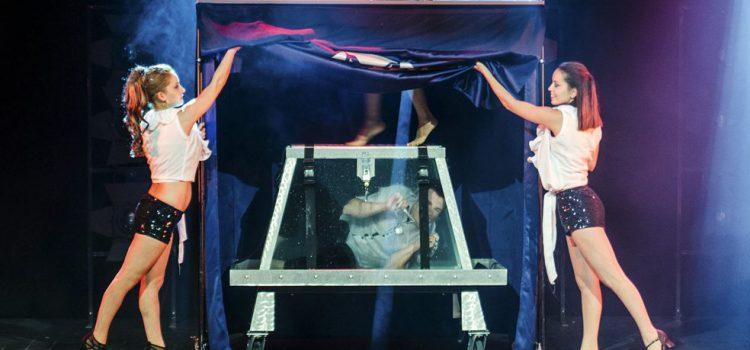 Pirámide de Arona acoge el nuevo espectáculo del ilusionista Mago Sun
