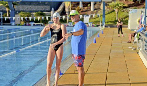 El ex nadador olímpico Glen Christiansen imparte un curso en Tenerife Top Training