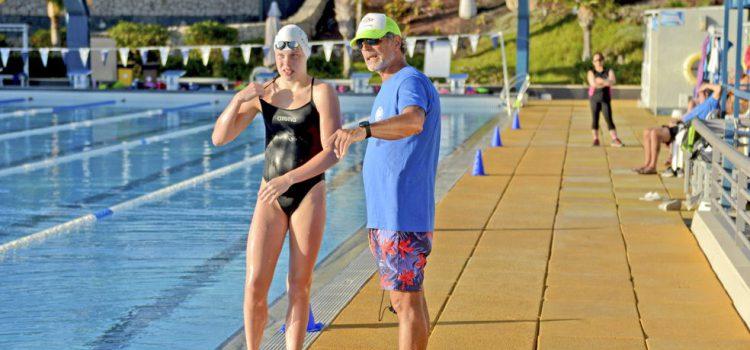 El exnadador olímpico Glen Christiansen imparte un curso en Tenerife Top Training