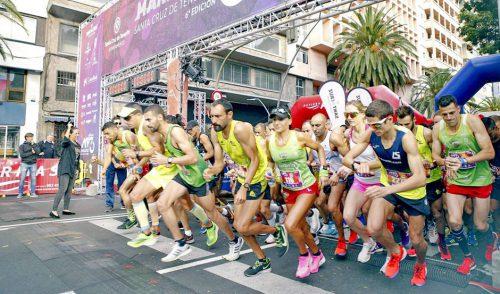 Tenerife no Limits promociona la Isla como destino deportivo en la Maratón de Santa Cruz