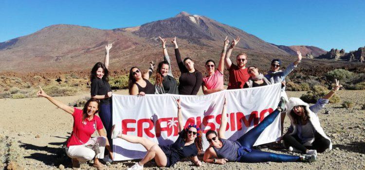 El turoperador francés Plein Vent enseña Tenerife a un grupo de agentes de viajes