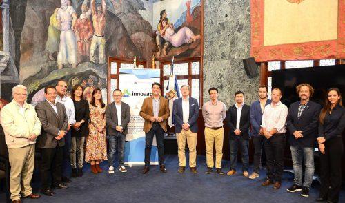 El  presidente y el consejero de Turismo reciben a los socios del Proyecto Europeo INNOVATUR