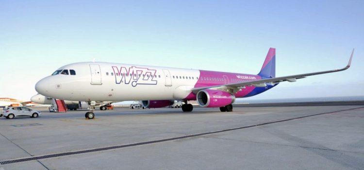 Llega el vuelo inaugural de la ruta de Wizz Air desde Reino Unido