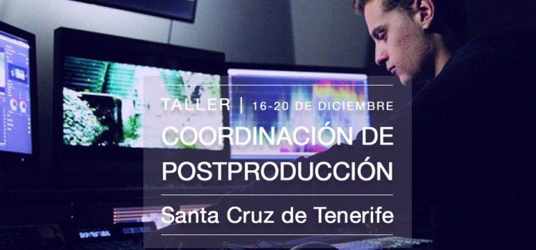 Tenerife Film Commission dedica el último taller del año a la postproducción