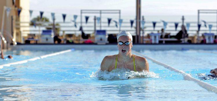 La selección belga francófona de natación prepara el Europeo en el Tenerife Top Training