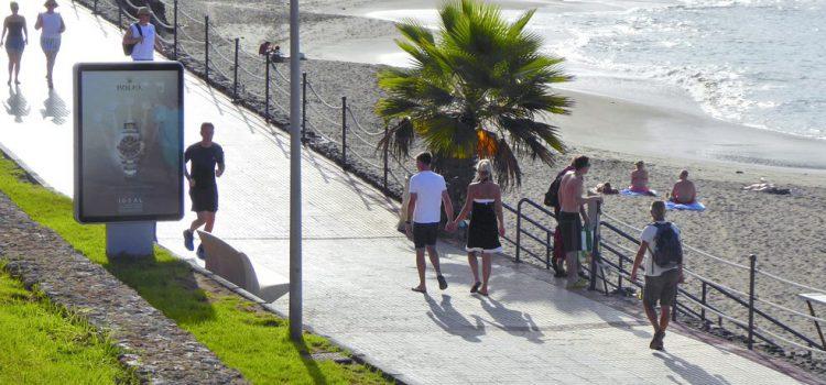 Los turistas rusos encabezan la evolución del incremento de gasto en los viajes