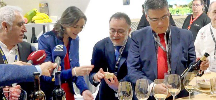 VÍDEO: La ministra Reyes Maroto visita el estand de Tenerife en Madrid Fusión'20