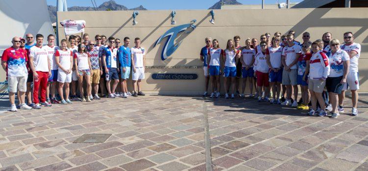 La federación rusa de natación concentra en el Tenerife Top Training a medio centenar de deportistas