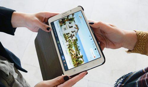 Las Terrazas de Abama entrega una tablet 4G a los huéspedes de sus suites de lujo